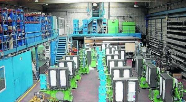 Instalaciones de la empresa Grupo Técnico Rivi, en María de Huerva.