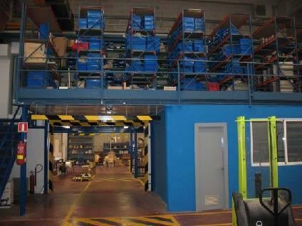 Comunicación Edificios 2 & 3. Talleres - Almacén